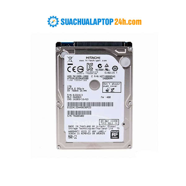 Ổ cứng HDD Laptop 1T-5400prm