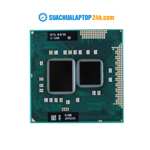 Chíp Intel Core i5-520M (3M Cache, 2.40 GHz)
