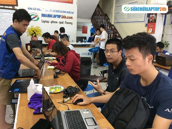 Địa chỉ sửa chữa laptop uy tín số một Hà Nội SUACHUALAPTOP24h