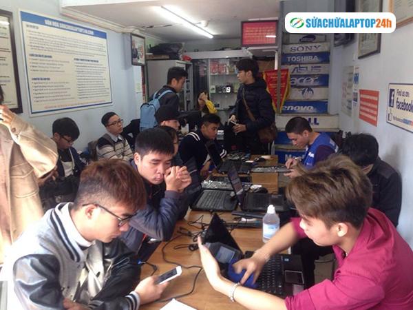 Địa chỉ sửa chữa laptop uy tín số một Hà Nội SUACHUALAPTOP24h - 4