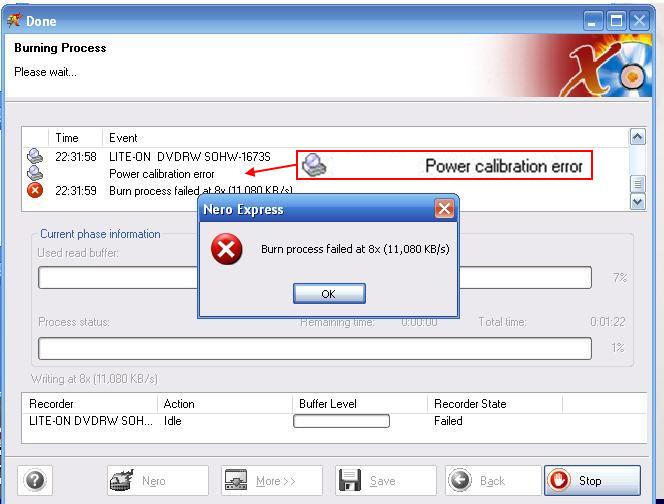 phục lỗi ổ đĩa ghi Laptop không thể chép đĩa