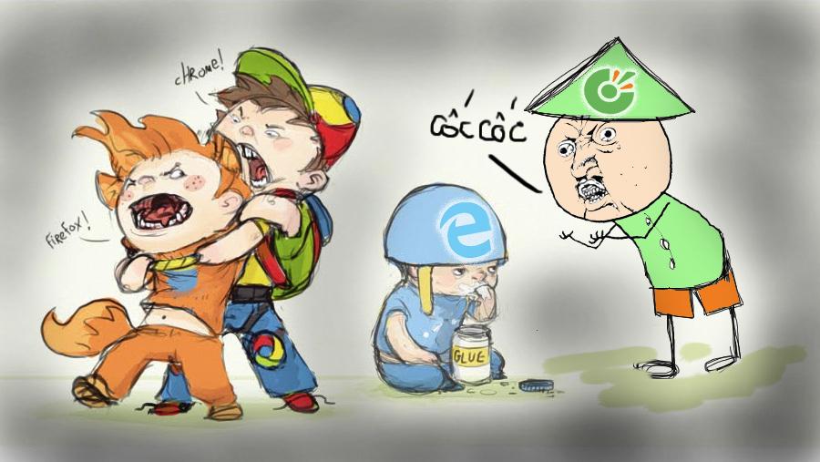 Trình duyệt web nào nhanh nhất hiện nay tại Việt Nam?