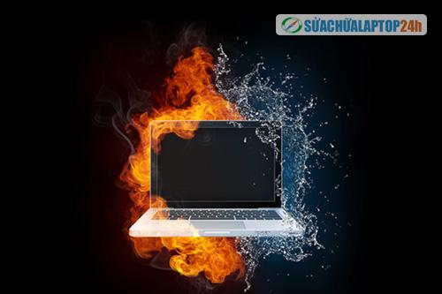 Mùa hè, mùa mưa những nguy hại gây nguy hiểm đến tính mạng laptop