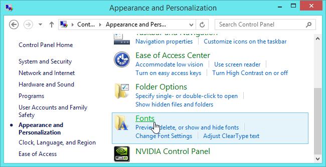 Cách cài đặt font chữ trong Windows, Mac và Linux