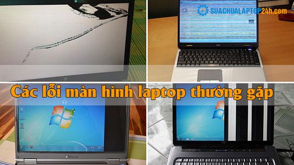 các lỗi màn hình laptop thường gặp